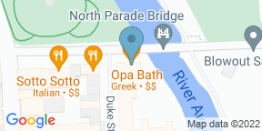 Google Map for OPA Bath