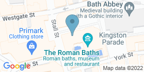 Google Map for The Pump Room
