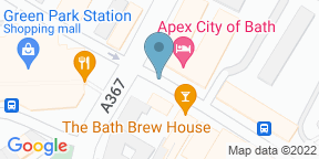 Google Map for Apex City of Bath Hotel