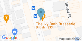 Google Map for The Ivy Bath Brasserie