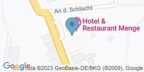 Google Map for Hotel Restaurant Menge