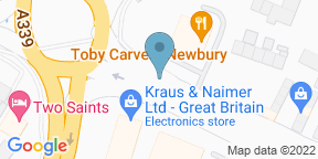 Google Map for Toby Carvery - Newbury