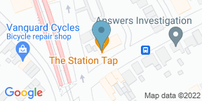 Google Map for The Station Tap Wokingham