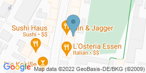 Google Map for Gin & Jagger