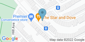 Google Map for The Star and Dove
