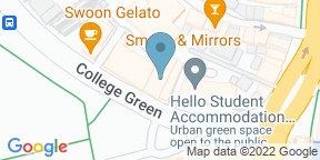 Google Map for Green House Bristol