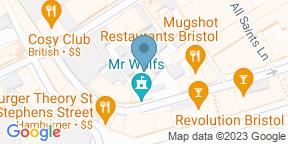Google Map for Slug and Lettuce Bristol, City Center