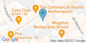 Google Map for Walkabout Bristol