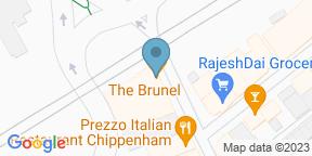 Google Map for Brunel Chippenham