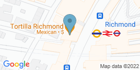 Google Map for Carmona Steak & Tapas Richmond