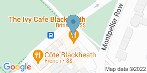 Google Map for The Ivy Cafe Blackheath