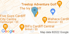 Google Map for The Ivy Cardiff