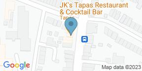 Google Map for JK's Tapas Restaurant & Cocktail Bar