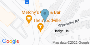 Google Map for Woodville - Cardiff