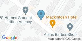 Google Map for Mackintosh Hotel Cardiff