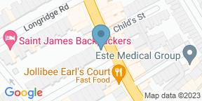 Google Map for Dolci Cafe