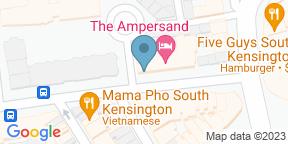 Google Map for Apero Restaurant