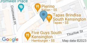 Google Map for Tapas Brindisa South Kensington