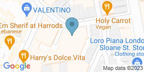 Harry's Dolce VitaのGoogle マップ