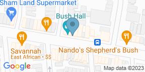 Google Map for Next Door Records