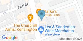 Google Map for Clarke's Restaurant