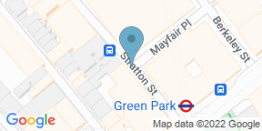 Google Map for Afternoon Tea at The May Fair Hotel