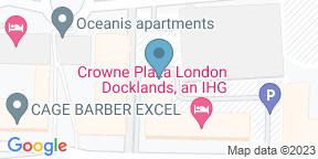 Google Map for Lands End Restaurant