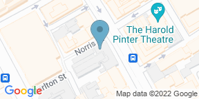 Google Map for Planet Hollywood London