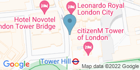 Google Map for The Wine Library