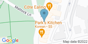 Google Map for Bread Street Cafe — Ealing