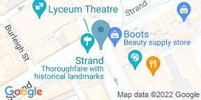 Google Map for Savoy Grill — Kitchen Table