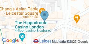 Google Map for Salvador and Amanda Covent Garden