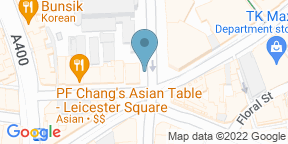 Google Map for The Long Acre