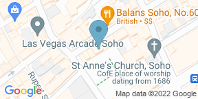 Google Map for Poppies Soho