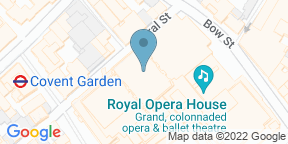 Google Map for The Petersham, Covent Garden