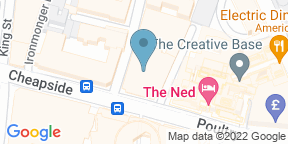 Google Map for Kaia at The Ned