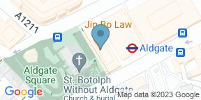 Google Map for VQ Aldgate