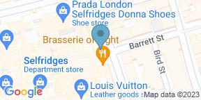 Brasserie of LightのGoogle マップ
