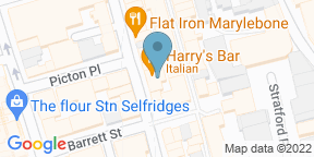 Harry's BarのGoogle マップ