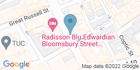 Google Map for Afternoon Tea at The Bloomsbury Street Hotel