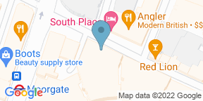 Google Map for Bread Street Kitchen & Bar — The City