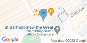 Google Map for Balfour at St. Bart's