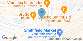 Google Map for The Hope Smithfield