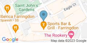 Google Map for Sports Bar & Grill Farringdon
