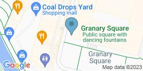 Google Map for The Granary Square Brasserie