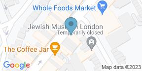 Google Map for Hook Camden