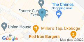 Google Map for Millers Tap Uxbridge
