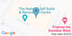Google Map for The 14Twelve Brassiere and Bar @ DoubleTree by Hilton Hotel Swindon