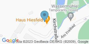 Google Map for Haus Hiesfeld