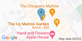 Google Map for The Ivy Marlow Garden